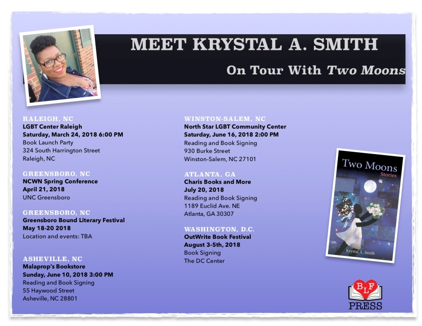 two moons tour events
